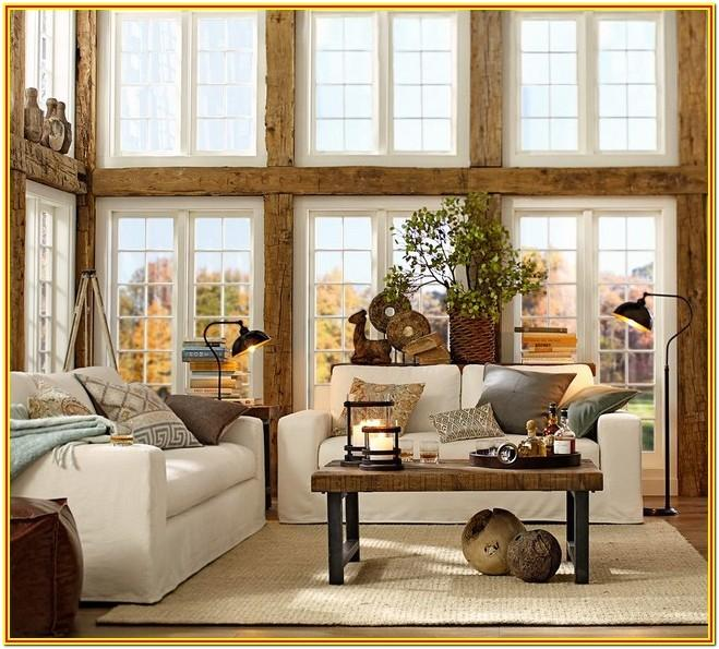 Living Room Pottery Barn Decorating Ideas