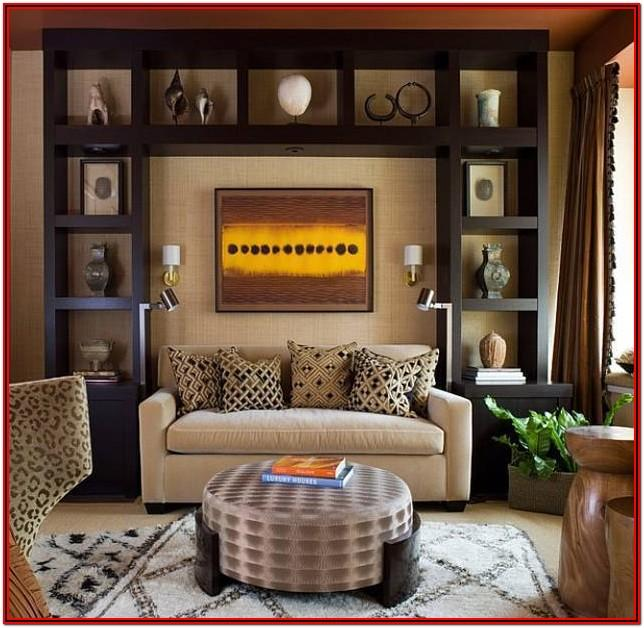 Living Room Safari Home Decor