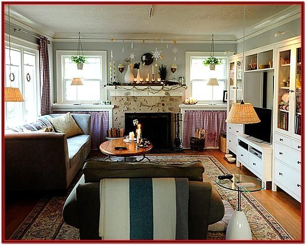 Living Room Scandinavian Decorating Ideas