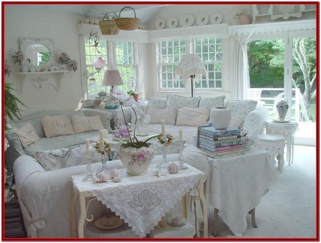 Living Room Shabby Chic Decor