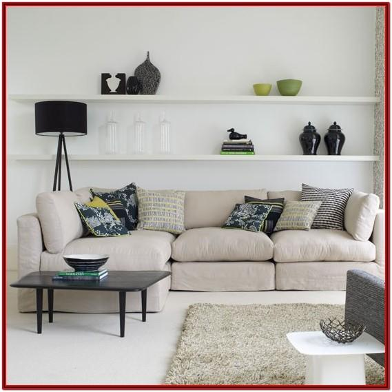 Living Room Shelves Decorating Ideas