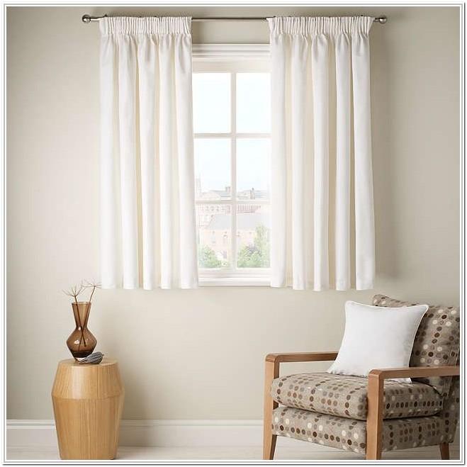Living Room Short Window Curtains