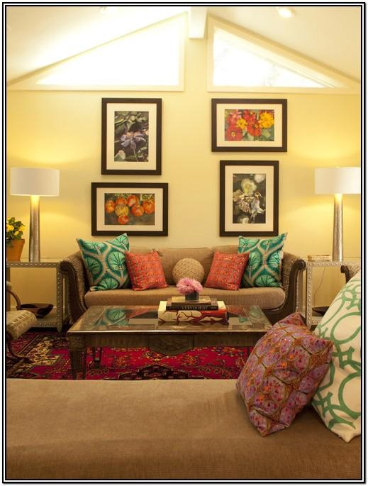 Living Room Simple Home Art Decor Ideas