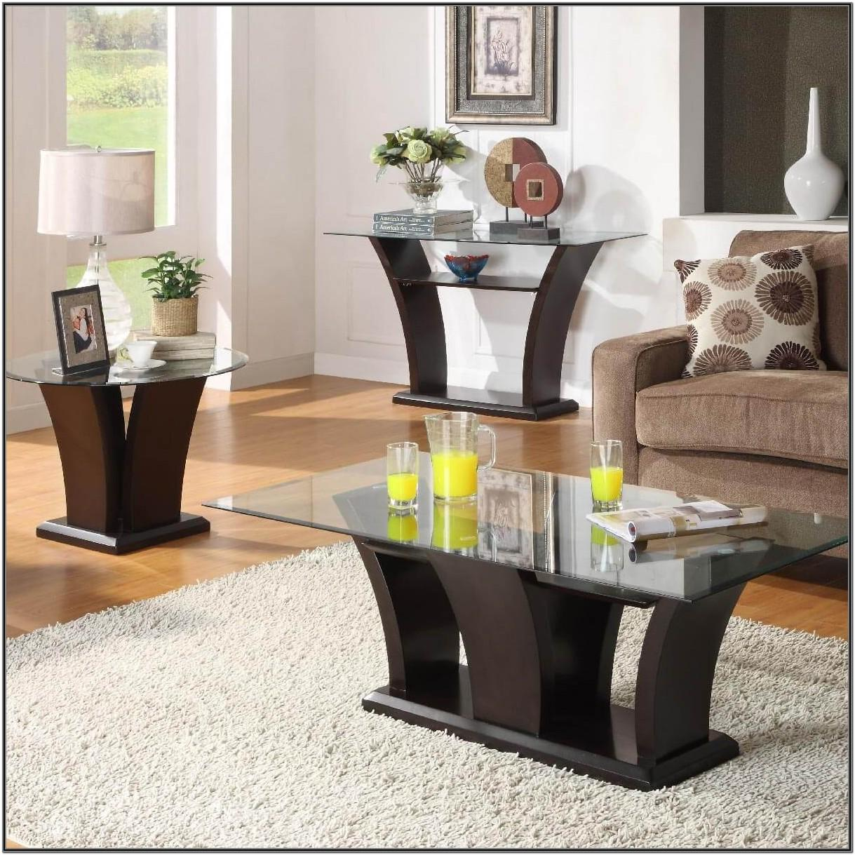 Living Room Sofa Table Decor Ideas