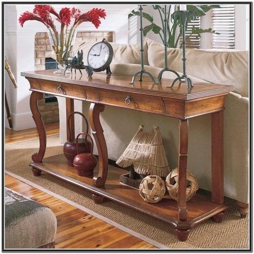 Living Room Sofa Table Ideas