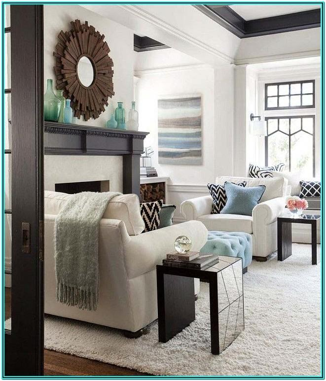 Living Room Transitional Home Decor