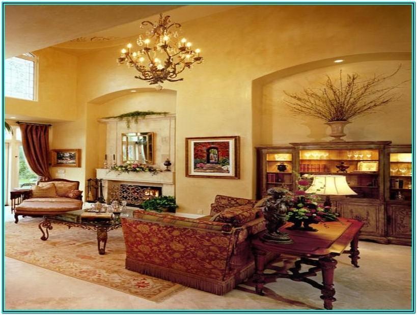 Living Room Tuscan Decorating Ideas