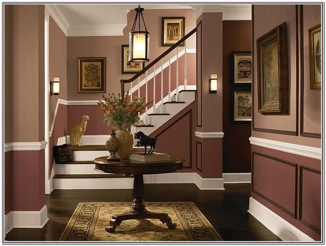 Living Room Two Tone Wall Paint Ideas