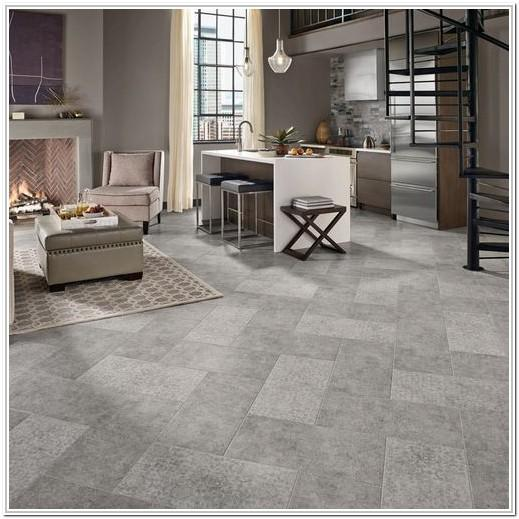Living Room Vinyl Flooring Design