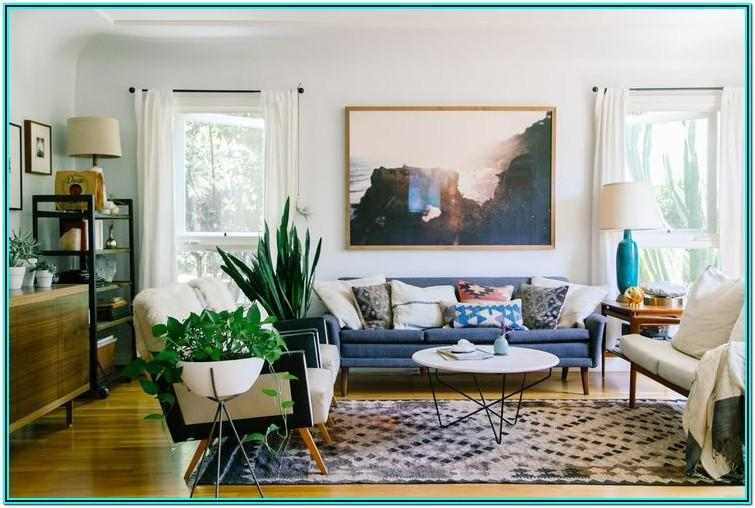Mid Century Modern Living Room Curtain Ideas