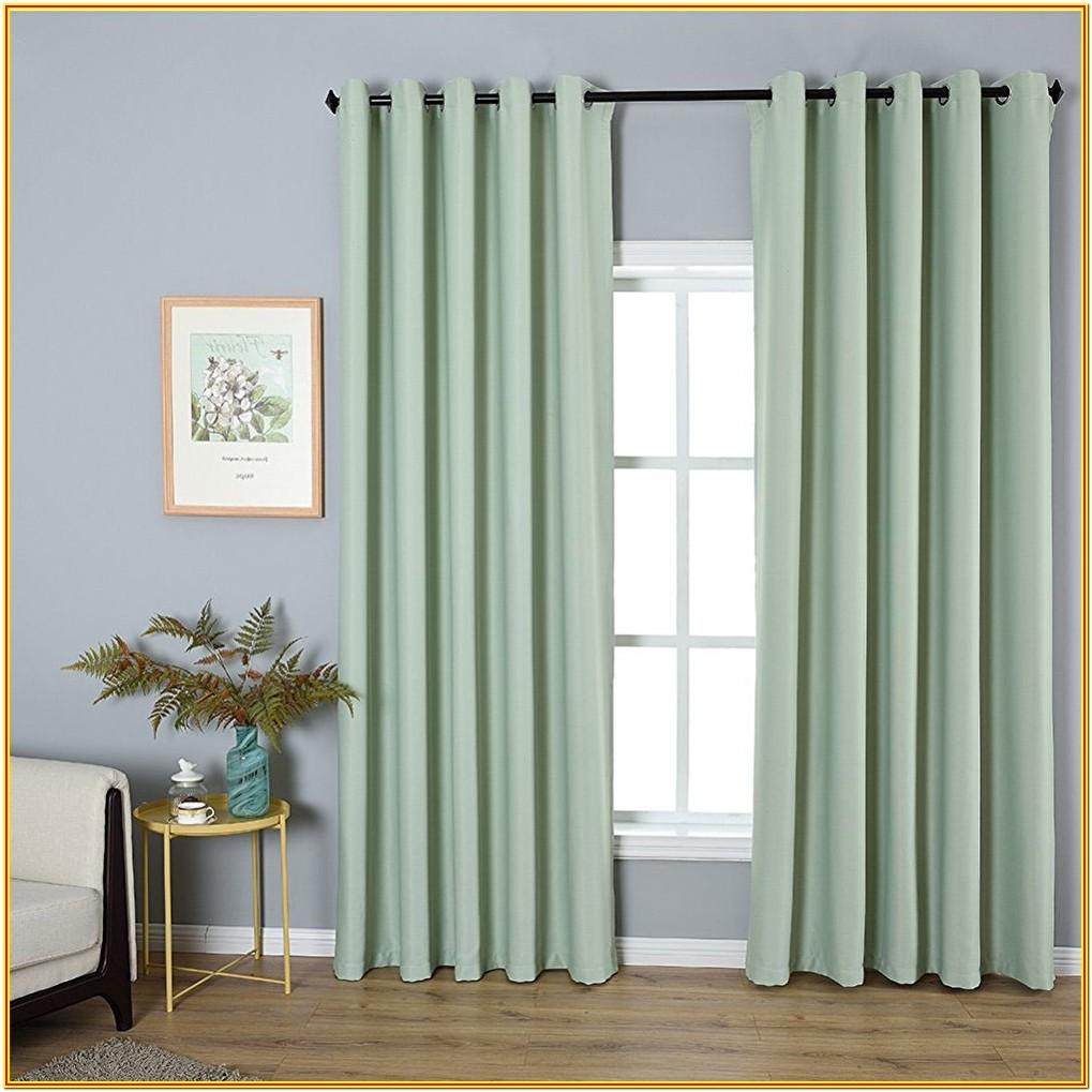 Mint Green Living Room Curtains