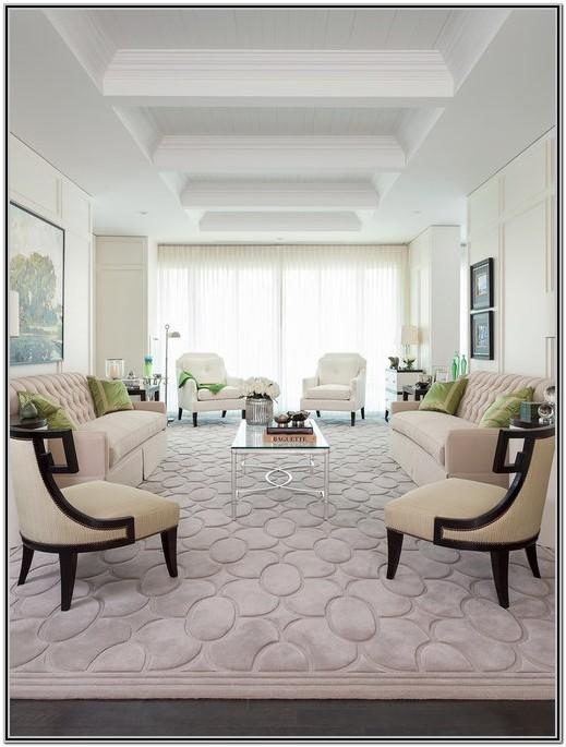 Modern Area Rugs Living Room Decorating Ideas