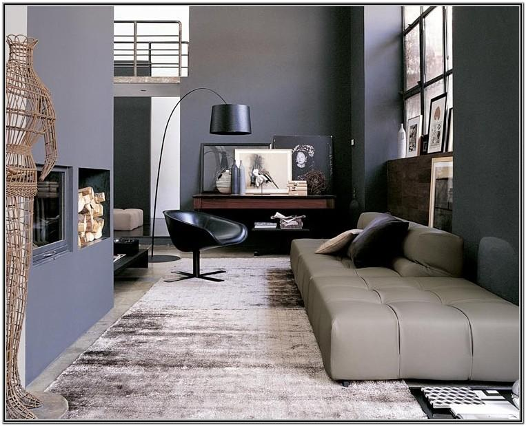 Modern Black And Grey Living Room Decor