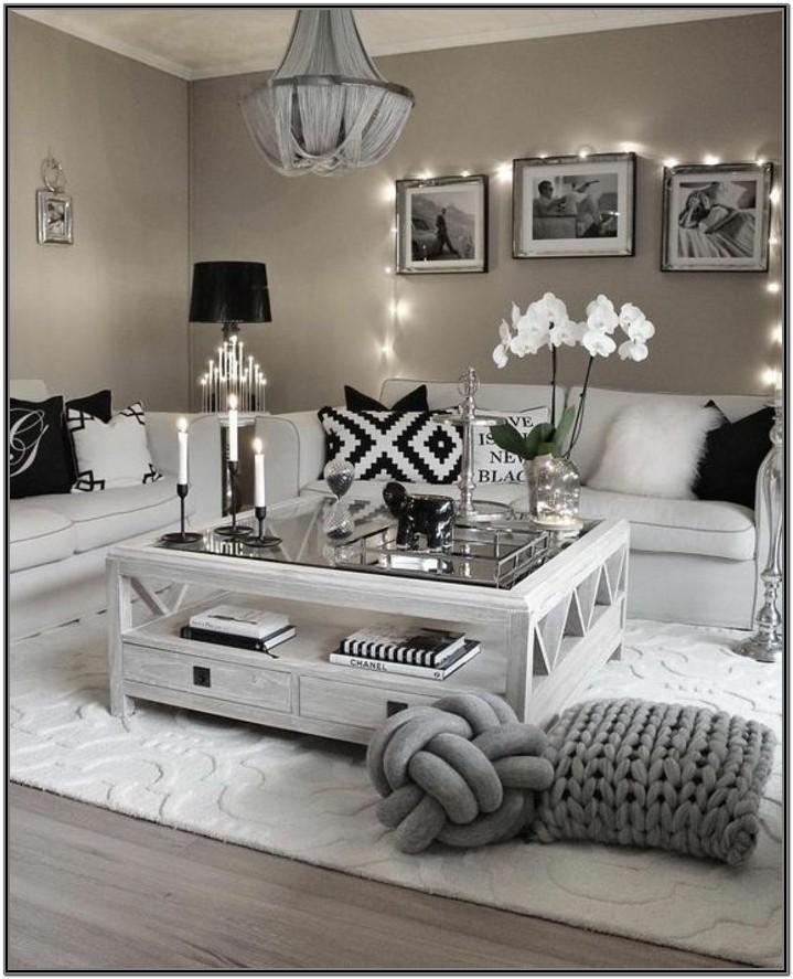 Modern Black And White Living Room Ideas