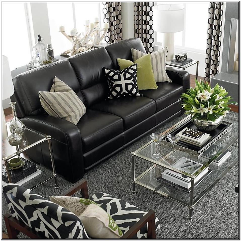 Modern Black Couch Living Room