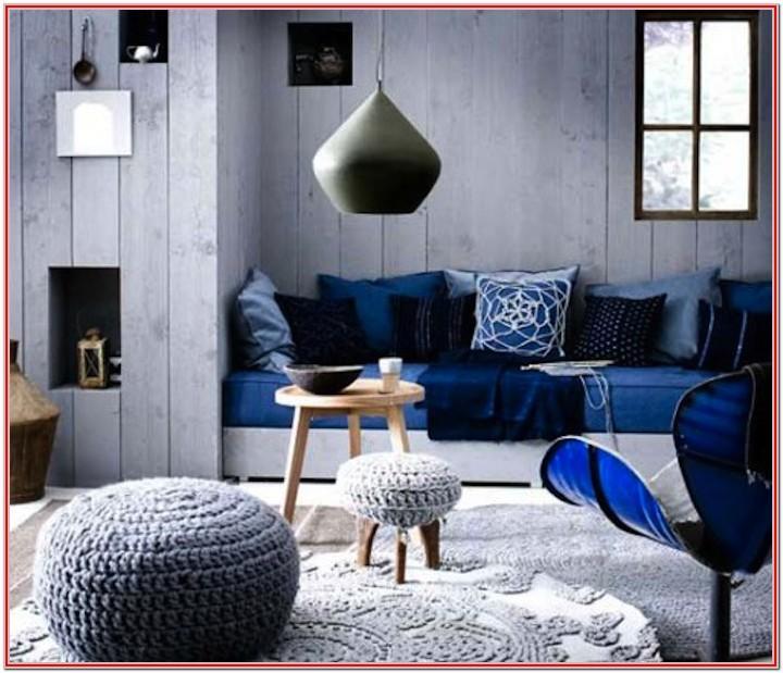 Modern Blue Living Room Colors