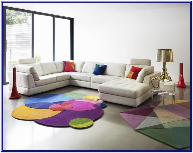 Modern Bright Colorful Living Room Ideas
