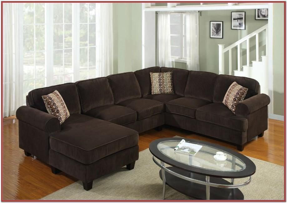 Modern Brown Living Room Set