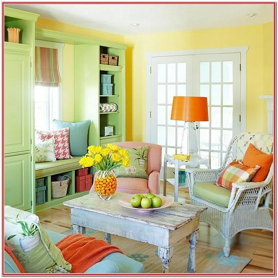 Modern Colorful Living Room Decor