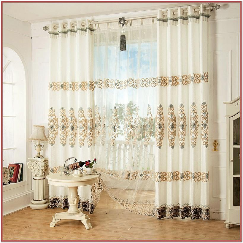 Modern Elegant Living Room Curtains