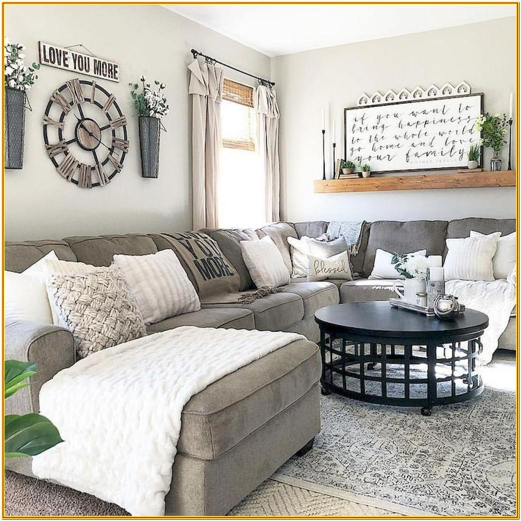 Modern Farmhouse Living Room Inspiration