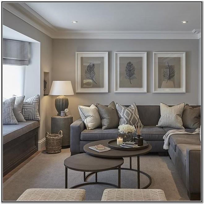 Modern Grey Living Room Decor