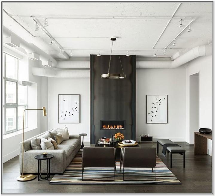Modern Industrial Style Living Room Decor