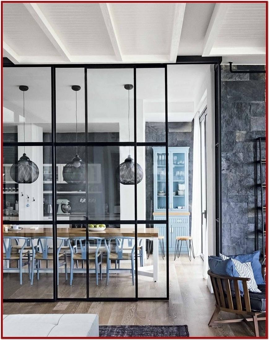 Modern Kitchen Living Room Divider Ideas
