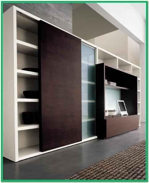 Modern Living Room Cabinet Design