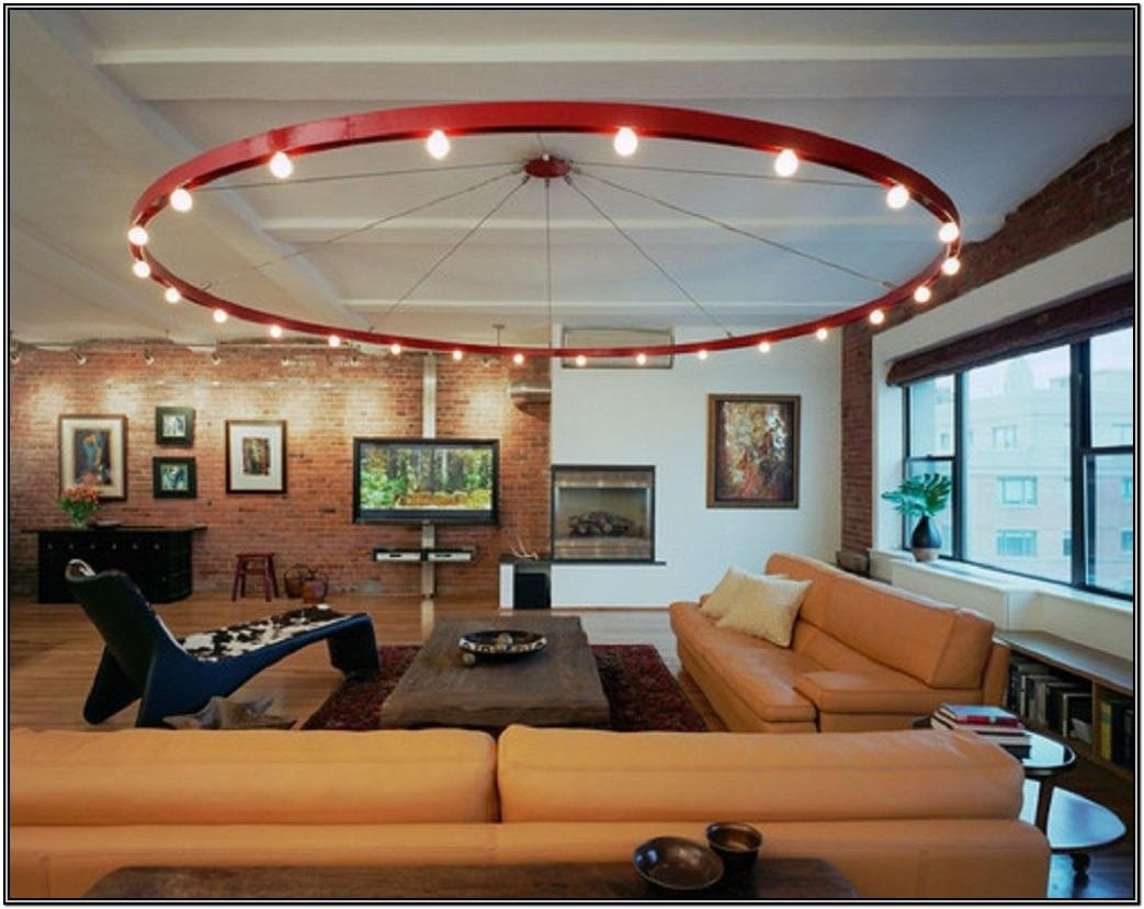 Modern Living Room Ceiling Lighting Ideas