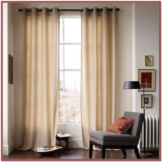 Modern Living Room Curtains With Valance