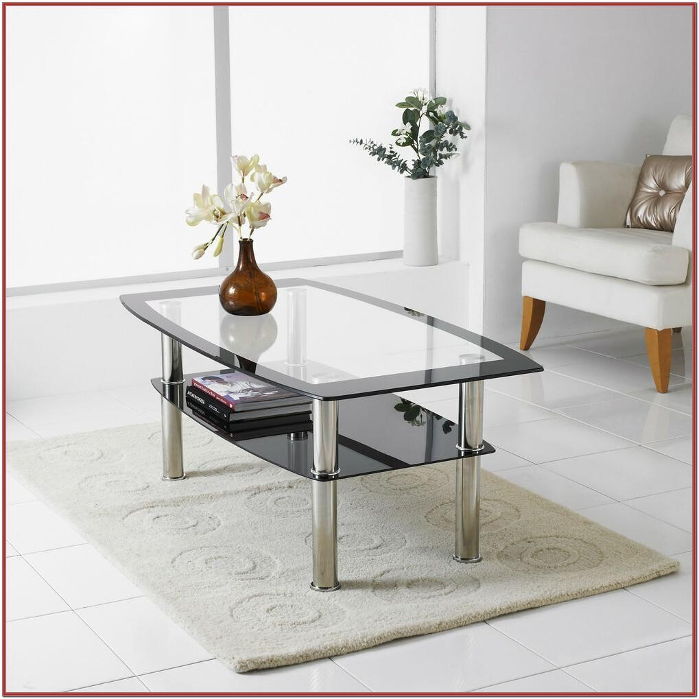 Modern Living Room Table Glass