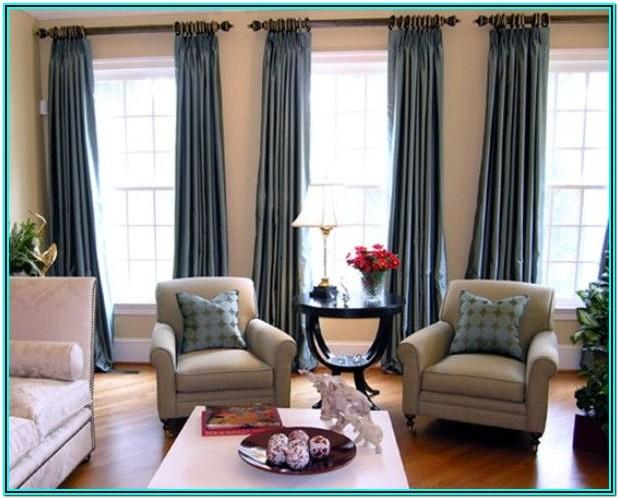 Modern Living Room Window Curtain Ideas