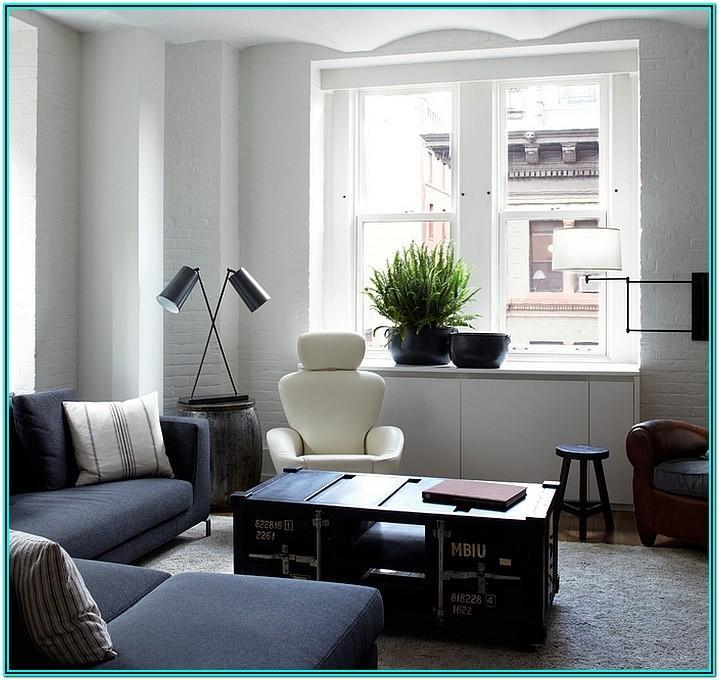 Modern Masculine Living Room Decor