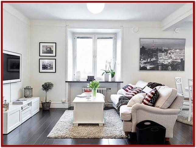 Modern Small Space Living Room Design
