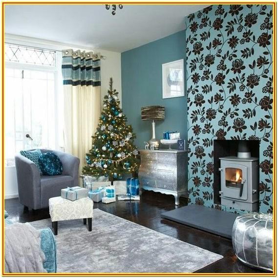 Modern Teal Living Room Ideas