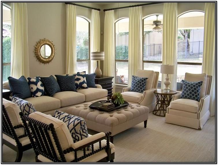 Navy Blue And Beige Living Room Ideas