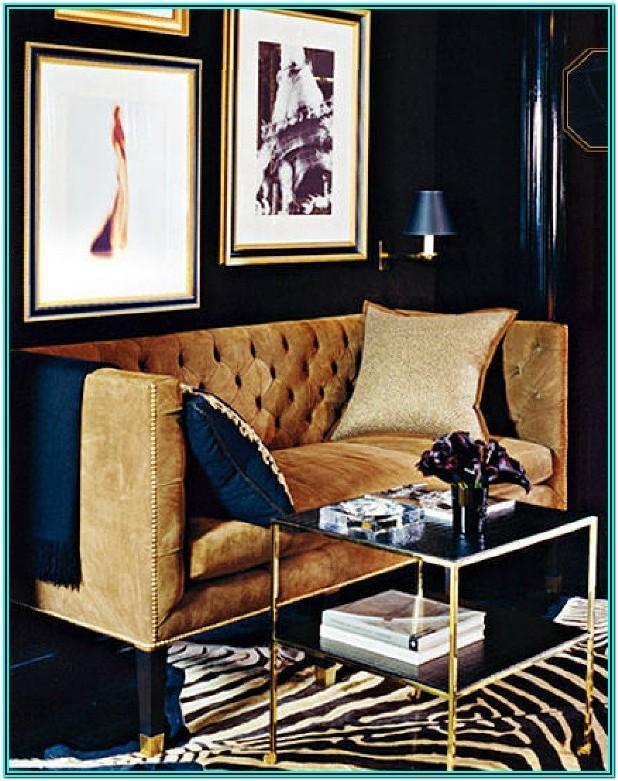 Navy Blue And Gold Living Room Decorating Ideas