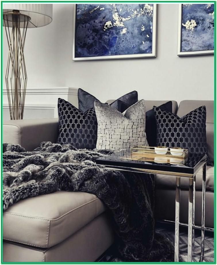 Navy Blue And Gray Living Room Ideas
