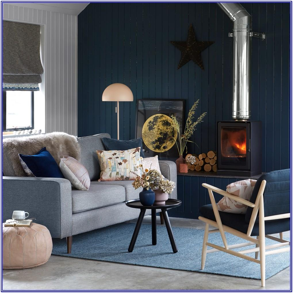 Navy Blue Living Room Paint Ideas