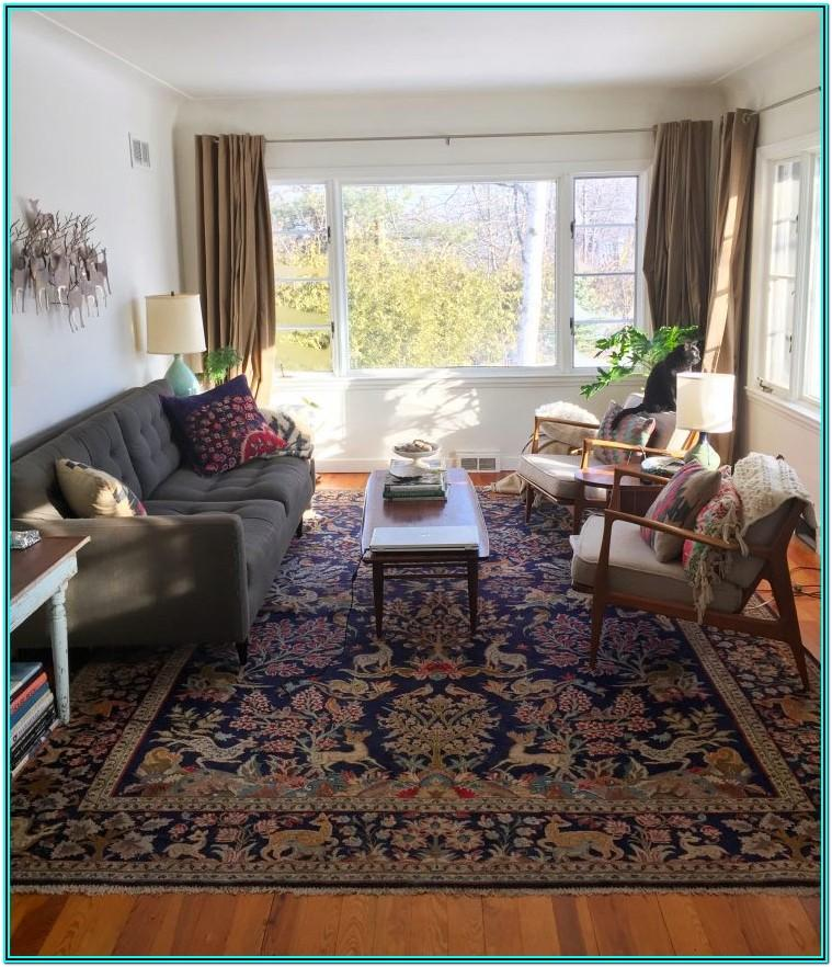 Oriental Rug Living Room Design