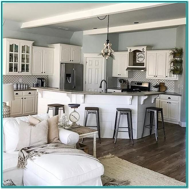 Paint Colors For Open Living Room And Kitchen