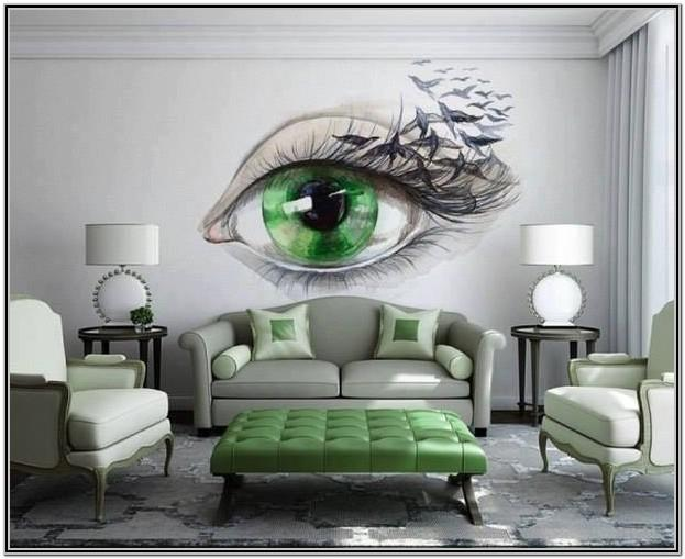 Painted Wall Mural Ideas For Living Room