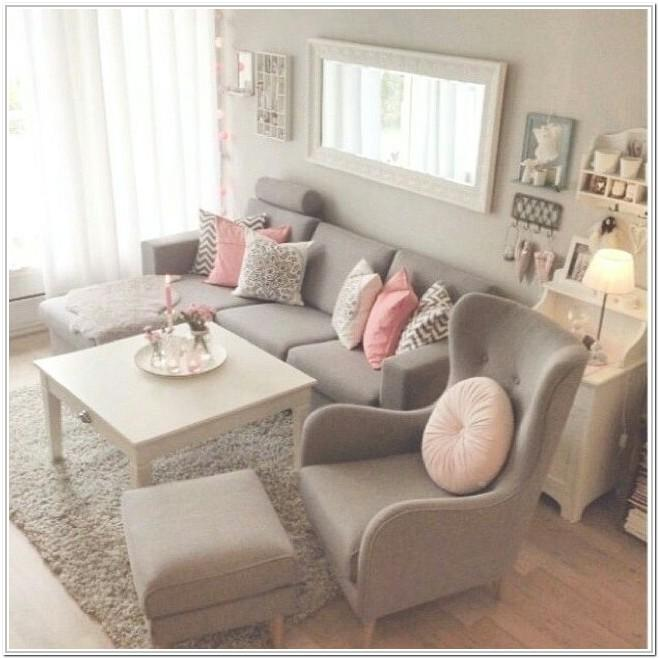 Pink And Gray Living Room Ideas