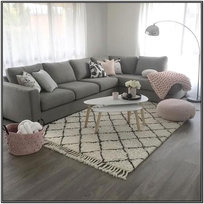 Pink And Grey Living Room Decor Ideas