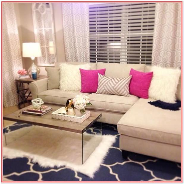 Pink Girly Living Room Ideas