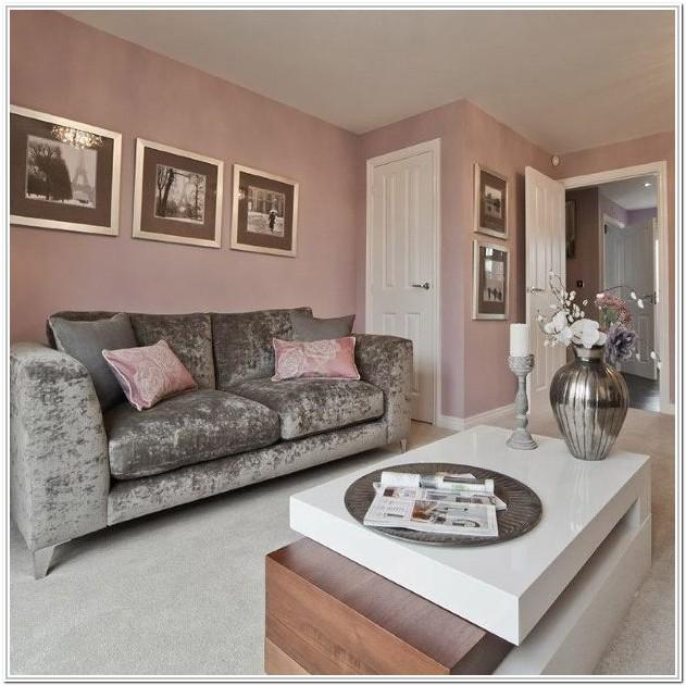 Pinterest Pink And Gray Living Room