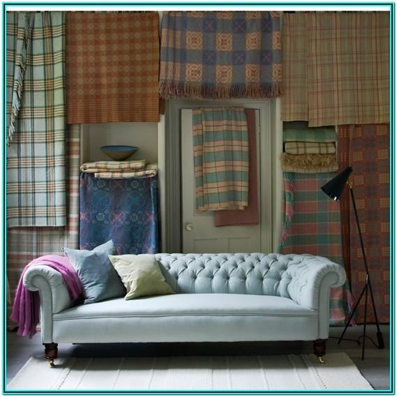 Plaid Couches Living Room Furniture