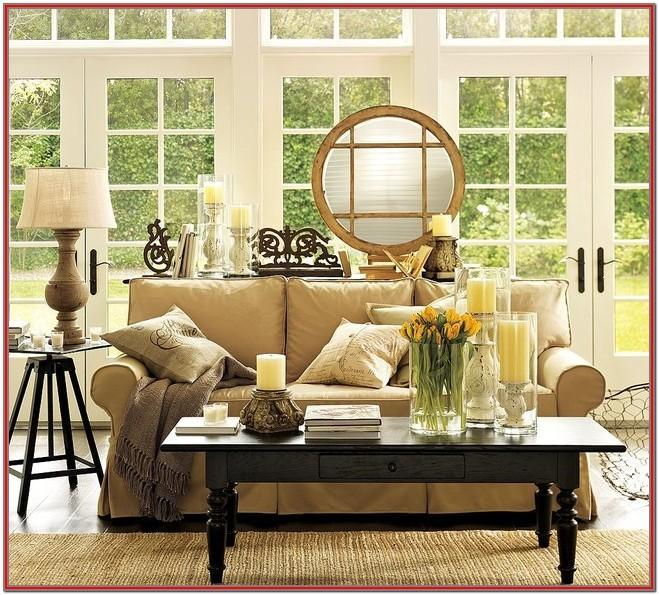 Pottery Barn Living Room Designs