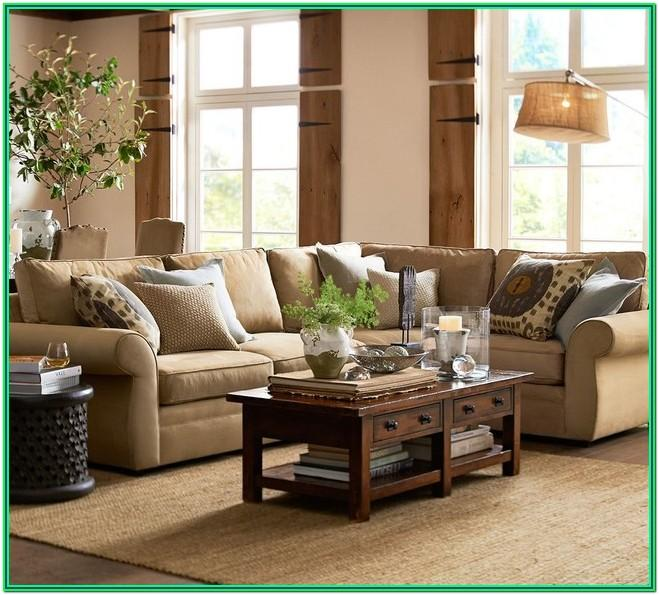 Pottery Barn Living Room Furniture Ideas